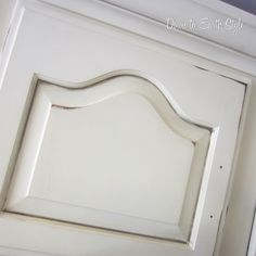"""TRICK TO """"GLAZING"""" :: She actually uses walnut or ebony stain & baby oil (on slightly sanded areas & grooves). Plenty of pix & clear instructions! 