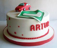Tarta para los 18 años de Artur https://www.facebook.com/Monsucre