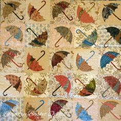 Laundry Basket Quilt of the Day - Dancing Umbrella