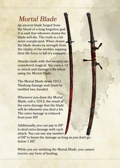 Dnd Dragons, Dungeons And Dragons Characters, D&d Dungeons And Dragons, Dnd Characters, Anime Weapons, Fantasy Weapons, Fantasy Map, Dark Fantasy Art, Magic Armor