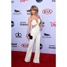 Taylor Swift Arrives With Her Best Friends—And Sits With Calvin Harris!—At The 2015 Billboard Music Awards found on Polyvore