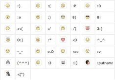 Facebook+Emoticons | Facebook Chat Emoticons : Emoticons for Facebook Chat. | Funny Status ...