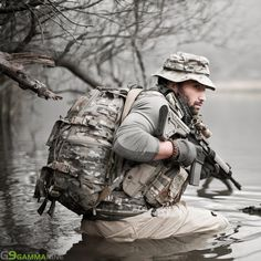 Special Ops, full load out. Military Gear, Military Police, Tactical Equipment, Tactical Gear, Tactical Survival, Gi Joe, Camouflage, Military Special Forces, Airsoft Gear