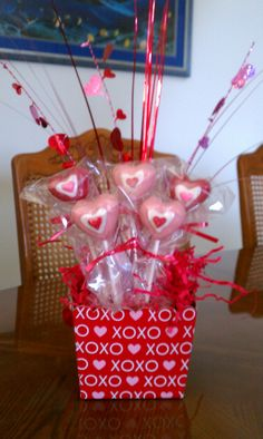 my valentine cake pops