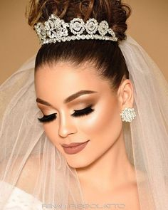 Looking for wedding hair inspiration? From updos to undone waves, we've got the best bridal hairstyles for your big day. Bridal Makeup Looks, Bride Makeup, Wedding Hair And Makeup, Hair Makeup, Crown Hairstyles, Bride Hairstyles, Princess Updo, Wedding Hairstyles For Girls, Bridal Hair Updo