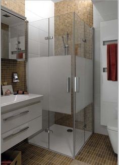 Tiny Bathroom Remodel – Designing a tiny home might need an extra careful effort. Small mistakes can make the home either uncomfortable or not very . Shower Remodel, Remodel Bathroom, Budget Bathroom, Bathroom Design Small, Luxury Apartments, Interior Design Living Room, Kitchen Remodel, New Homes, Shower Bathroom