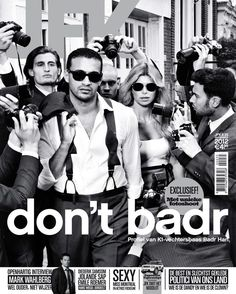 Sentenced free-fighter (actually in jail) and celebrity Badr Hari covers JFK magazine.