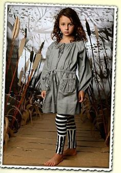 Paper Wings Grey Smock Dress Size 6 - The Crooked Little Path
