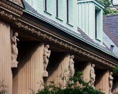 Villa Skywa Primavesi, Vienna, Austria designed by Josef Hoffmann