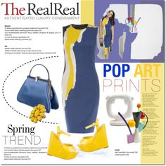 Spring Trends With The RealReal: Contest Entry by cruzeirodotejo on Polyvore featuring polyvore, fashion, style, Cédric Charlier, Alice + Olivia, Judith Leiber, Kate Spade and TheRealReal