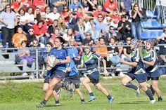 Le foto sportive dall'album 'Ad Maiora vs. Riviera rugby Ladies' del fotografo Diego Barbieri tra i migliori scatti di SporTorino