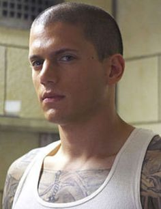 Wentworth Miller - Wow that look!
