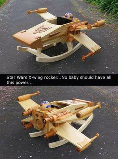 Star wars x-wing rocker