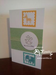 Carte pour baby shower