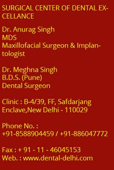 SCODE Offers Oral Surgery in Delhi, Best Oral Surgeon in Delhi, India oral surgery clinics, Oral and Maxillofacial Surgeon in India, Oral and Maxillofacial Surgery Clinic in India.