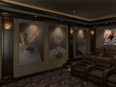 Home Theater Wall Panels Part 55