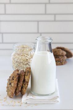 biscotti ai fiocchi d'avena - oatmeal cookies