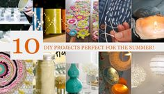 10 DIY projects perfect for the summer!» Bo and Belle