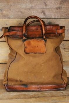 leather and canvas vintage NFS