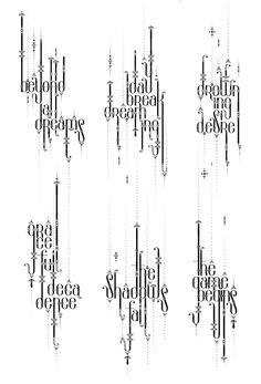 Typography by Alex Trochut