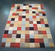 "mondrian mon25 multi-coloured 160 x 226cm (5ft 3"" x 7ft 5"") Now: £ 199.00"
