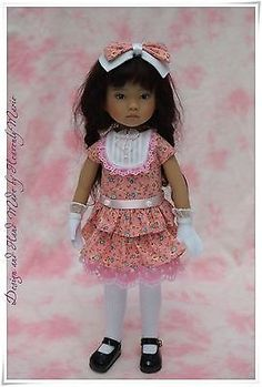 OOAK-One-piece-Jaket-Outfit-Set-for-Effner-13-Little-Darling-by-Heavenly-Marie