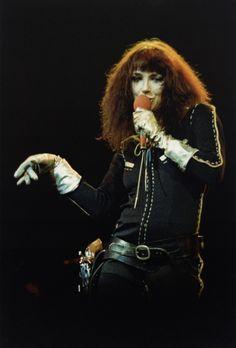 Kate Bush on stage, 1979.