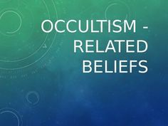 """This .ppt file helps teachers to promote a discussion about """"OCCULTISM"""" easily during classes. CEFR: B1-C1 How to use it: Put the students in groups, ask them to pick a number and challenge them to talk non-stop about each topic for the number of minutes listed."""