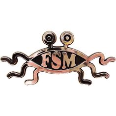 Flying spaghetti monster!  Next to go on my car, as the Darwin fish is wearing out.
