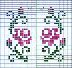 Pattern for slippers