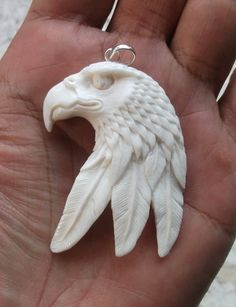Bone and Antler Carvings | The last 2 carving pendants are made from deer shed antler and the ...