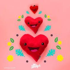 <3 Follow your heart/ Sigue tu corazón <3  Peluches con aroma para recordarte cada día el camino correcto.
