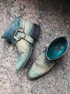 ☮ American Hippie Bohéme ☮  Turquoise Boho ☮ Boots