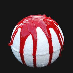 Dracula's Blood Bath Bomb-bath bomb-halloween bath bomb-spooky-scary-horror-bath-halloween fizzie-non candy treat-vampire-blood-bathbomb by SnazzieBombs on Etsy