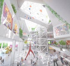 Tainan Museum of Fine Arts Design,Taiwan by Shigeru Ban