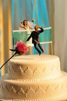 this will be my wedding cake #volleyball...Ha Ha perfect for you guys...