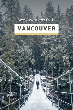 Plan your weekend trip with our favourite getaways from Vancouver, curated by us, Vancouver locals! Our Vancouver weekend guide includes a map, unique things to do in each region, as well as our… More Canada Destinations, Top Travel Destinations, Best Places To Travel, Travel Tips, Best Weekend Trips, Weekend Vacations, Canadian Travel, Visit Canada, Mexico Travel