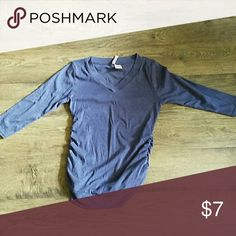 Maternity top Soooft! Like new, smoke free pet friendly. 3/4 sleeves Tops Tees - Long Sleeve
