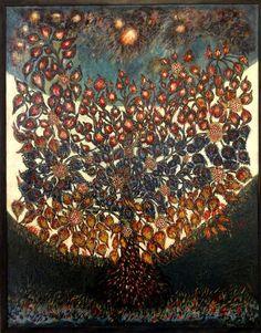 Séraphine Louis (Séraphine de Senlis) (1864-1942) - The Tree of Life, 1928