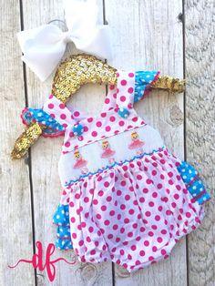 Ballerina Smock Bubble, summer, dancer, little girls, babies, baby shower by DashForward on Etsy