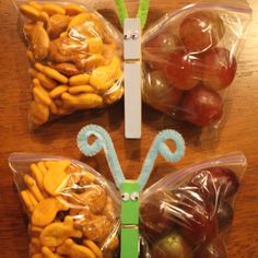 Easy and cute snack for the kids!