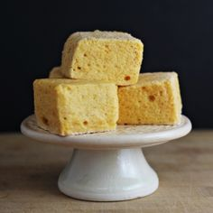 Pumpkin Marshmallows - Light and springy marshmallows made with pumpkin and a surprise ingredient you might not expect.