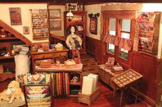 La Casa Riba. Rincón de mi tienda en miniatura en escala 1:12
