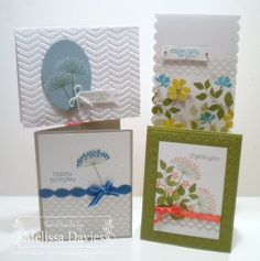 RubberFUNatics: April Card Kit of the Month - Summer Silhouettes