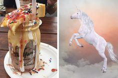 Build A Milkshake In Five Steps And We'll Reveal What Kind Of Unicorn You Are I got Pegasus unicorn.