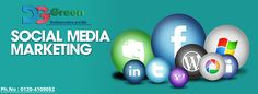 #SocialMediaMarketing Company in Delhi NCR, Promote your business, brand and services in all social networking sites. Call at 0120-4109052