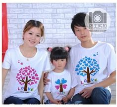 Find More T-Shirts Information about Free Shipping   100% cotton family short sleeve Tee Shirt T shirt Men's T Shirt Women's T Shirt Children's T shirt MOQ: 1 piece,High Quality t-shirt cotton,China free promotional t-shirts Suppliers, Cheap t-shirt - long sleeve from Treasure Hope on Aliexpress.com