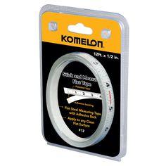 """Komelon USA F12 1/2"""" X 12' Flat Tape Rule"""