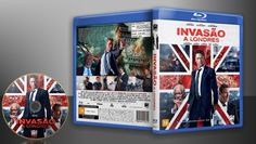 Invasão A Londres (Blu-Ray) - Capa | VITRINE - Galeria De Capas - Designer Covers Custom | Capas & Labels Customizados