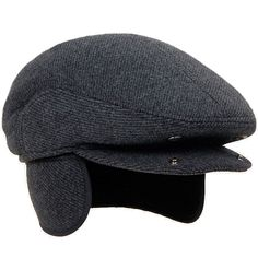 5a0f4b3aab4 Men s Classic Cap Winter Warm Woolen Gentleman Hat Earflap Hat -  CH189DRHM6A - Hats  amp